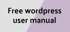 wordpress user manual